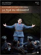 La Fille du Régiment diffusé au Mega CGR de Brignais les 22 et 23 novembre 2012