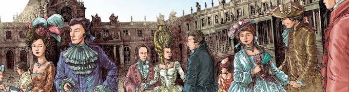 Versailles. Le château de Versailles dans la bande dessinée, exposition du 19/9 au 31/12/20