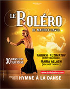 Le Boléro de Ravel et Hymne à la danse au Pasino de la Grande Motte, le 30 novembre 2012 à 20h30