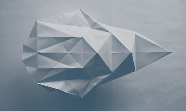 Ai Kitahara,projet Lys (déplier-reconstruire), 2012