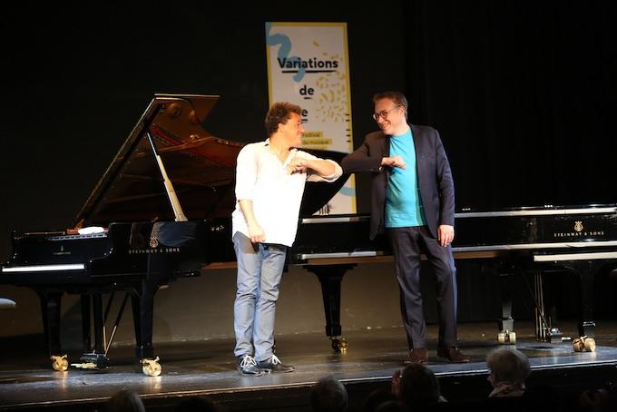 Jacky Terrasson et Jean-François Zygel © Yannick Perrin