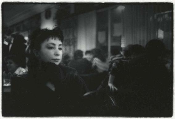 Le café Romand, Lausanne, 1989/90 © Fondation Jean-Pascal Imsand / ProLitteris