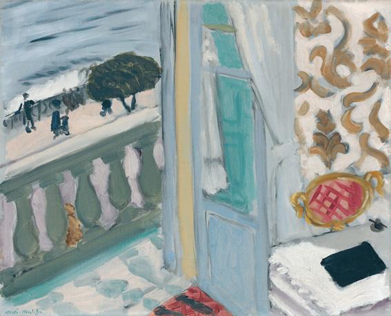 Henri Matisse, Nice, cahier noir, 1918, huile sur toile, 33 x 40,7 cm, Hahnloser/Jaeggli-Stiftung, Villa Flora, Winterthur, photo Reto Pedrini, Zurich © 2013