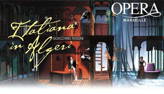 L'Italienne à Alger, de Rossini, Opéra de Marseille, du 29 décembre 2012 au 6 janvier 2013