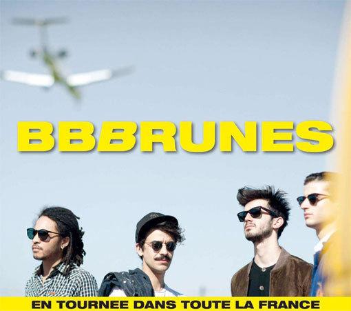 BB Brunes en concert au Théâtre Lino Ventura de Nice le 5 Avril 2013