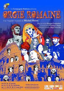 Orgie Romaine pour le réveillon du 31 décembre 2012, au théâtre l'Etoile Royale, Lyon