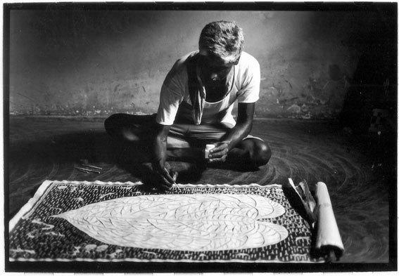 Inde, Tribu Warli © Anne de Vandière, Galerie Maubert