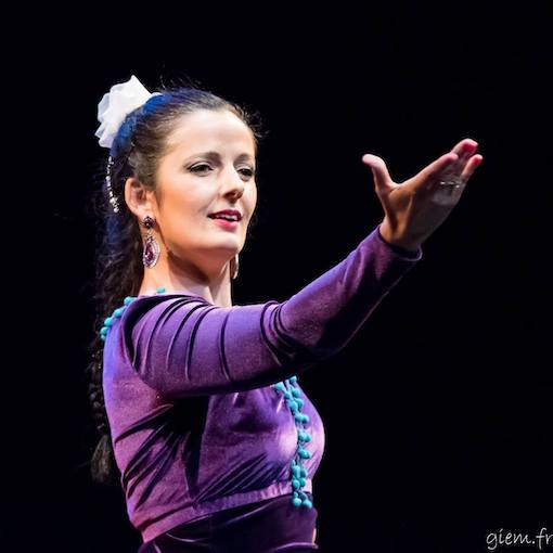 La danseuse flamenca Coralie Cazorla