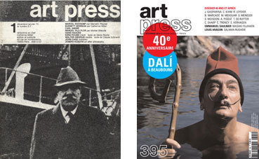Les 40 ans d'art press à la Bibliothèque nationale de France, les 13, 14 et 15 décembre 2012