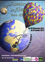 25ème Festival du Film pour Enfants du 28 décembre 2012 au 4 janvier 2013 à Lans-en-Vercors