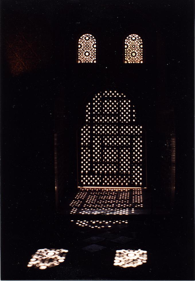 Alhambra, moucharabieh © Pierre Aimar