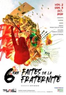 Marseille. 6e Faites de la Fraternité du Théâtre Toursky - 2 & 3 octobre 2020