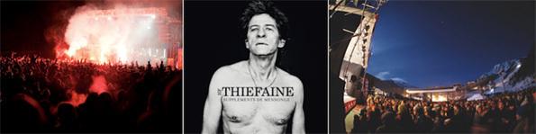 « Vars en Scène » : Concert gratuit d'Hubert Félix Thiéfaine à l'occasion de l'ouverture du domaine skiable le samedi 15 octobre 2012
