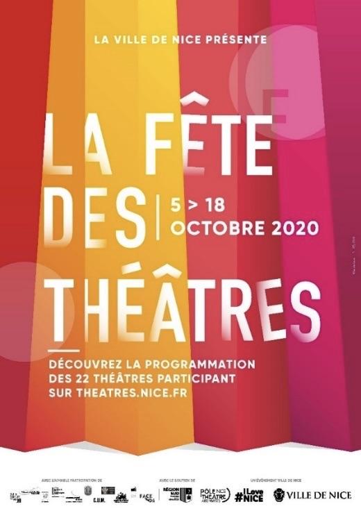 Nice. 6e édition de La Fête des Théâtres du 5 au 18 octobre 2020