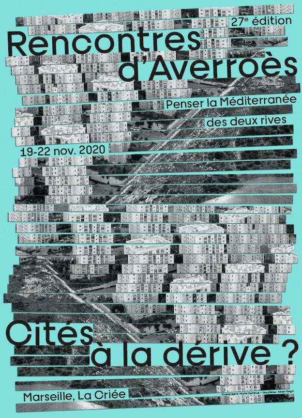 Marseille, La Criée : Rencontres d'Averroès, 27e édition 19 - 22 nov. 2020