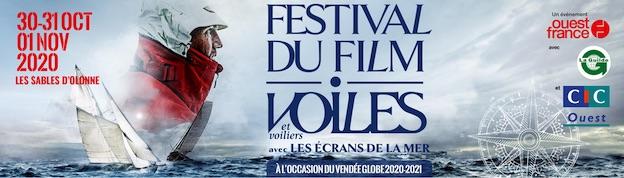 Les Sables-d'Olonne. 1ère édition du Festival du film Voiles et Voiliers avec les Écrans de la Mer, du 30 octobre au 1er novembre