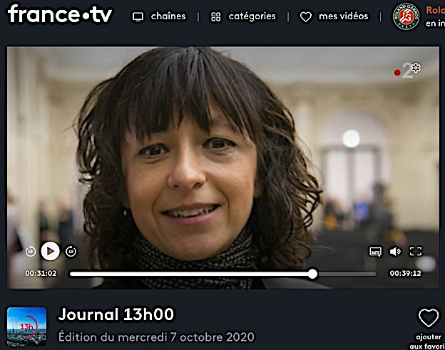 8secondes  pour Emmanuelle Charpentier Prix Nobel 2020