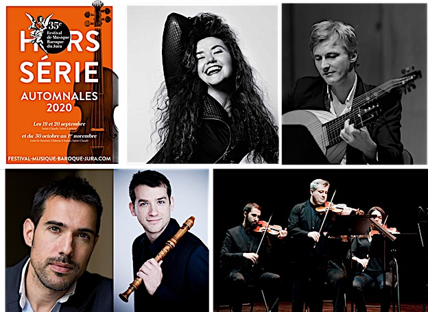 Deuxième week-end du Festival de Musique Baroque du Jura du 30 octobre au 1er novembre 2020