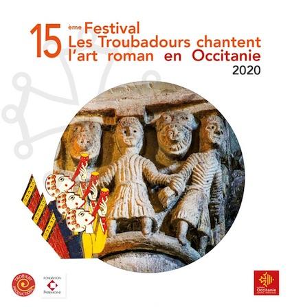 Abbaye de Fontfroide : Les troubadours chantent l'art roman en Occitanie le 24 octobre 2020, à 18h00