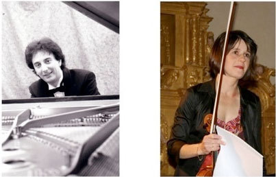 François Daudet, piano, Saskia Lethiec, violon © DR