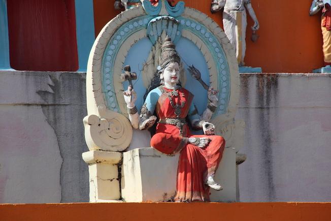Temple indien à Changy, Capesterre Belle-Eau © Pierre Aimar