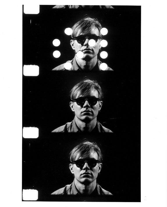 Gerard Malanga, Andy Warhol Film Portrait , 1964, photographie éd. 10, 41x51 cm © Malanga - Galerie Mons