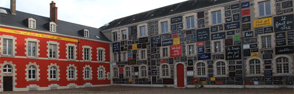 Blois, La cour du Doute © JP Thibault