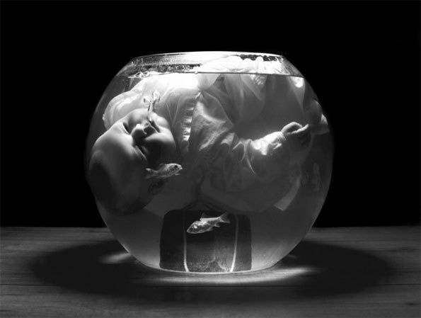 Laurence Demaison, Si j'avais su n° 2, 2010  Tirage argentique monté sur aluminium, 38 x 50 cm