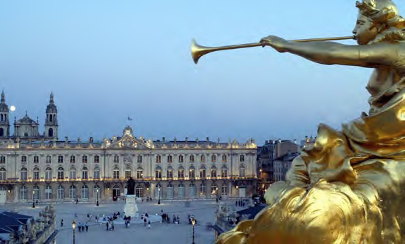 Nancy, place Stanislas © DR