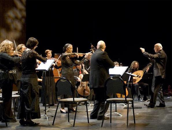 L'orchestre Les Passions. Direction Jean-Marc Andrieu ©DR