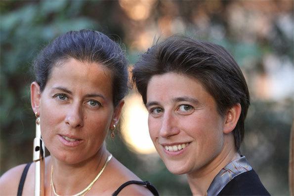 Sandrine Tilly et Anne Le Bozec © DR