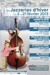 Jazzeries saison 3, festival de jazz à Saint-Etienne du 2 au 21 février 2013