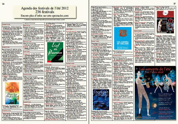 Festivals ici et ailleurs 2013 sera diffusé à partir du 20 juin 2013 dans les départements suivants :
