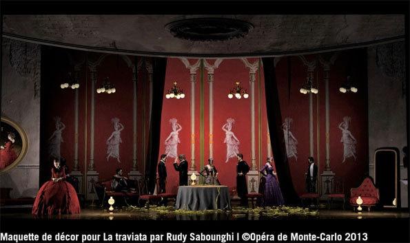 La Traviata de Verdi à l'opéra de Monte-Carlo, splendeurs et misères d'une courtisane tuberculeuse. Par Christian Colombeau
