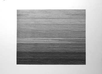 Pascal Navarro je voudrais que rien ne bouge 2012 encre sur papier arches 56X76 cm