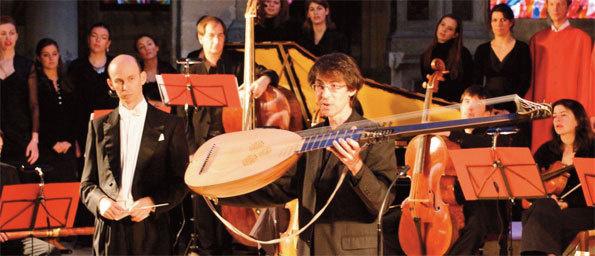 Action pédagogique de l'Ensemble Palais Royal © DR