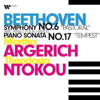 Martha Argerich - Theodosia Ntokou jouent Beethoven - Sortie le 22 janvier chez Warner Classic