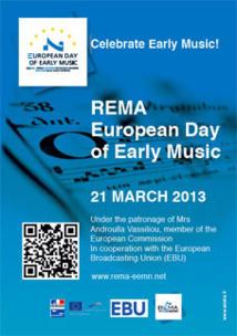 Journée européenne de musique ancienne le 21 mars 2013, événements en Europe et en ligne !