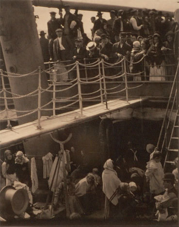 Alfred Stieglitz The Steerage 1907 © succession Lamarche-Vadel et Lamarche / Adagp, Paris 2013