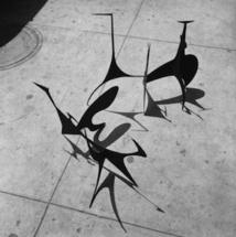 Sans titre (maquette), 1939, et Spiny (maquette), 1939 Photo: Herbert Matter © 2012 Calder Foundation, New York