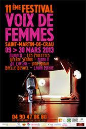 11e Festival voix de femmes à Saint-Martin de Crau du 9 au 30 mars 2013