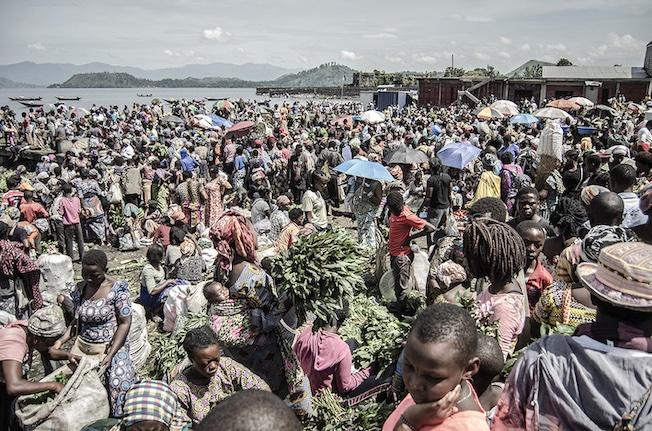 Goma, République démocratique du Congo, 2 avril 2020. © Moses Sawasawa pour la Fondation Carmignac