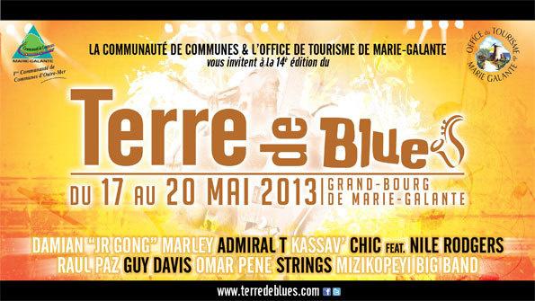 Festival Terre de blues à Grand-Bourg de Marie-Galante, Guadeloupe, du 17 au 20 mai 2013