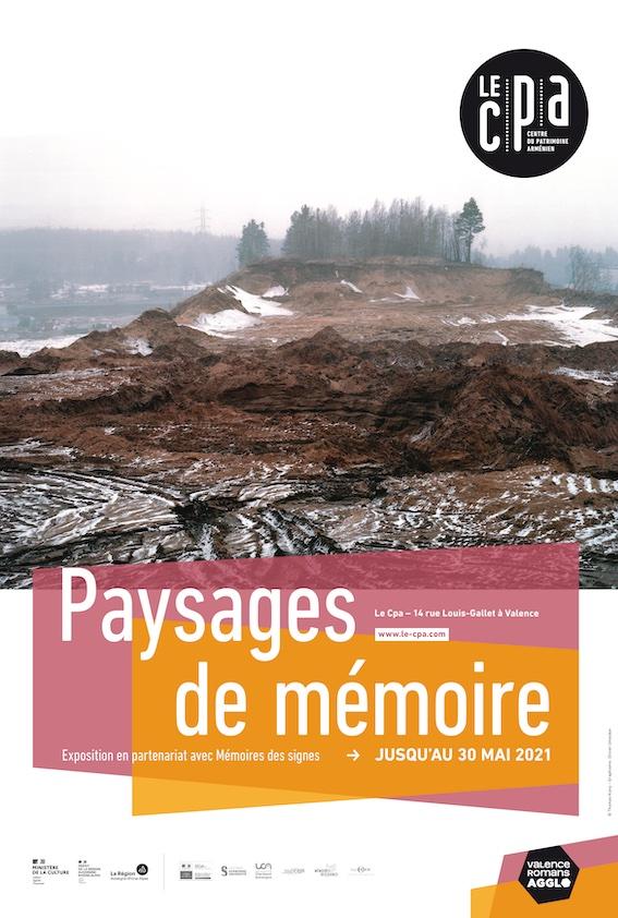 Valence, Centre du patrimoine arménien : Paysages de mémoire, expo du 23 janvier au 30 mai 2021