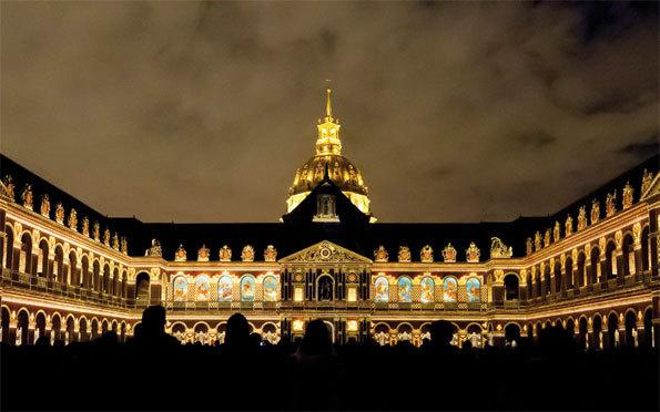 La cour d'honneur des Invalides © Christophe Chavan