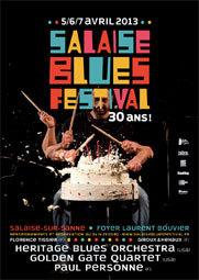 Salaise Blues Festival, du 5 au 7 avril 2013 à Salaise sur Sanne, Isère