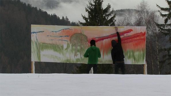 """We Are The Painters Paint for Hochwechsel, 2010 HDV, couleur, son Durée : 47'54"""" FNAC 2012-280"""
