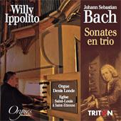 Des sonates de Bach enregistrées sur l'orgue de l'église Saint-Louis à Saint-Etienne