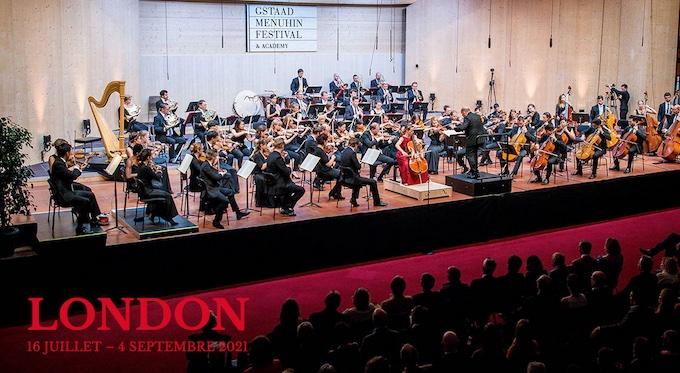 Gstaad (CH), 65e Gstaad Menuhin Festival & Academy 2021 a pour thème Londres, du 16 juillet au 4 septembre 2021