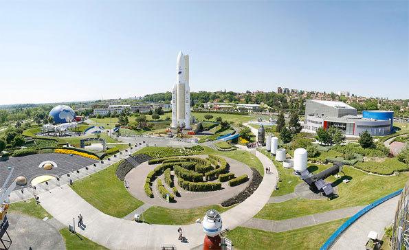 Le Parc de la Cité de l'espace ©Manuel Huynh